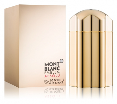 Apa de toaleta Montblanc Emblem Absolu 100 ml, barbati, Lemnos - Condimentat [1]