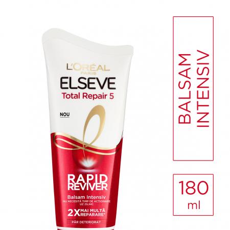 Balsam intensiv pentru parul deteriorat, Elseve RAPID REVIVER - 180ml [1]