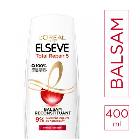 Balsam Reparator pentru par deteriorat Elseve Total Repair 5, 400 ml1
