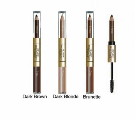 Creion pentru sprancene REVLON Brow Fantasy, No.106 Dark Brown, 1.13 g [2]