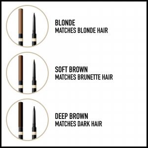 Contur sprancene Max Factor Brow Shaper, 10 Blonde, 1 g3
