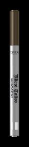 Creion de sprancene cu varf tip carioca L`Oreal Paris Brow Artist Micro Tattoo 108  Warm Brunette [5]
