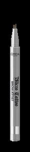 Creion de sprancene cu varf tip carioca L`Oreal Paris Brow Artist Micro Tattoo 108  Warm Brunette1