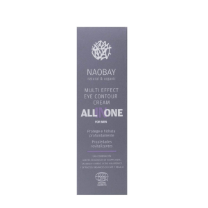 Crema contur de ochi BIO revitalizanta cu acid hialuronic pentru barbati All In One Naobay 15 ml2