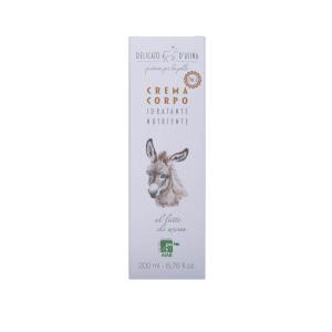 Crema de corp cu lapte de magarita BIO La Dispensa 200 ml2