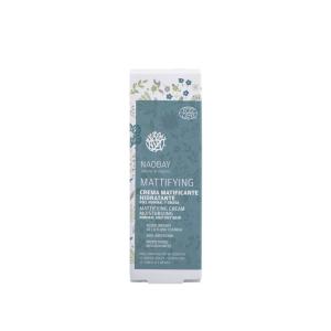Crema de fata hidratanta BIO matifianta pentru ten gras si predispus la acnee Naobay 50 ml [2]