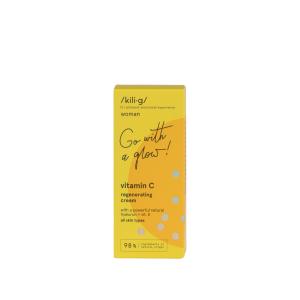 Crema de fata regeneranta cu vitamina C KILIG WOMAN 50 ML [2]