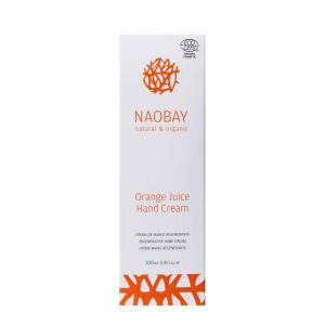 Crema de maini BIO hidratanta si revitalizanta cu extract de portocale Orange Juice Naobay 100 ml [2]