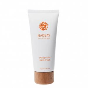 Crema de maini BIO hidratanta si revitalizanta cu extract de portocale Orange Juice Naobay 100 ml [0]
