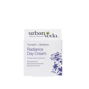 Crema de zi nutritiva cu extract de turmeric organic   ten uscat Radiance   Urban Veda 50 ml2