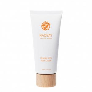 Crema hidratanta BIO pentru picioare cu extracte de unt de Shea si portocale Orange Juice Naobay 100 ml [0]