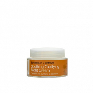 Crema hidratanta de noapte cu extract de lemn de santal organic   ten sensibil Soothing   Urban Veda 50 ml0