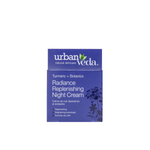 Crema puternic hidratanta de noapte cu extract de turmeric   ten uscat Radiance   Urban Veda 50 ml2