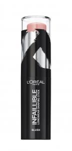 Fard de obraz stick L`Oreal Paris Infaillible Shaping Stick 001 Sexy Flush0