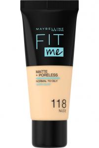 Fond de ten matifiant Maybelline Fit ME Matte& Poreless [0]