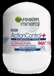 Garnier Mineral Action Control Clinically Tested Deodorant antiperspirant roll-on pentru femei, 50 ml0