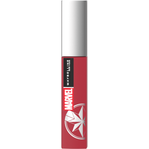 Marvel X Maybelline New York Ruj lichid mat Superstay Matte Ink 80 Ruler, 5ml0