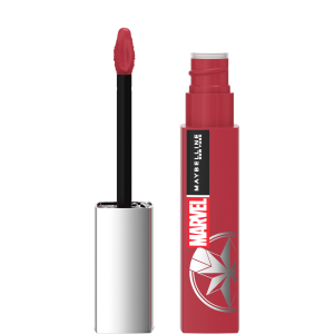 Marvel X Maybelline New York Ruj lichid mat Superstay Matte Ink 80 Ruler, 5ml2