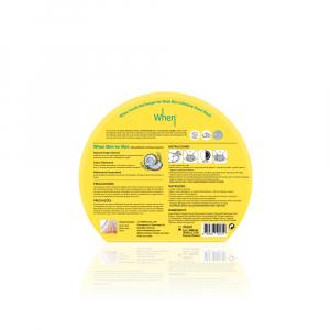 Masca coreeana regeneranta din bioceluloza WHEN, cu cocos, pentru zona gâtului, 18 ml [1]