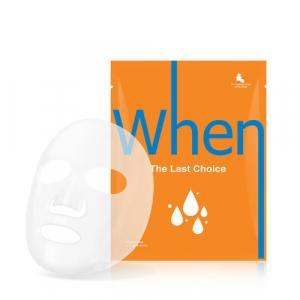SET de 4 masti coreene faciale servetel din bioceluloza WHEN, ultra-hidratanta, cu Acid Hialuronic, 23 ml2