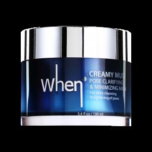 Masca coreeana WHEN, detoxifianta, pentru minimizarea porilor, 100 ml0