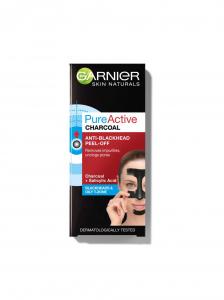 Pachet 2x Masca de fata peel off  Garnier Pure Activ, anti puncte negre cu carbune 50ml2