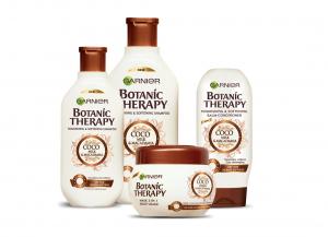 Masca de par Garnier Botanic Therapy Coco Milk & Macadamia, pentru par uscat lipsit de suplete 300 ML1