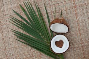 SET 1+1 GRATUIT Masca de par Garnier Botanic Therapy Coco Milk & Macadamia, pentru par uscat lipsit de suplete 300 ML2