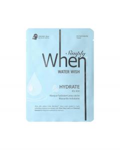 Masca coreeana faciala servetel WHEN, hidratanta, pentru tenul uscat, 23 ml0