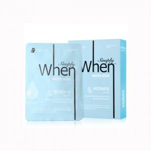 Masca coreeana faciala servetel WHEN, hidratanta, pentru tenul uscat, 23 ml1