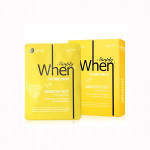Masca coreeana faciala servetel WHEN, hidratanta si revigoranta, pentru ten obosit, 23 ml2