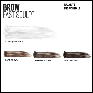 Mascara gel pentru sprancene  Brow Fast Sculpt 06, Deep Brown, 2.8ml [5]
