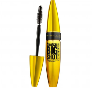 SET 1+1 GRATUIT Mascara Maybelline New York The Colossal Big Shot, Daring Black - 9.5ml