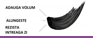 Mascara Maybelline Falsies Lash, pentru efect de gene false, black -9.6ml5