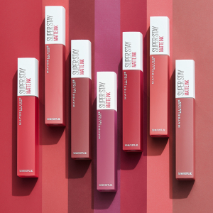 Ruj lichid mat Maybelline Superstay Matte Ink, 80 Ruler 5ml6