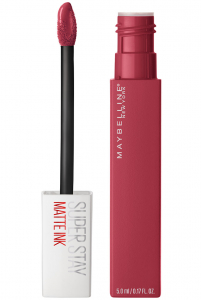 Ruj lichid mat Maybelline Superstay Matte Ink, 80 Ruler 5ml1