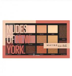 Paleta de farduri Nudes Of New York Maybelline, 18g