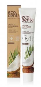 Pasta de dinti antiplaca cu ulei de cocos Cosmos Organic Ecodenta 75 ml [1]