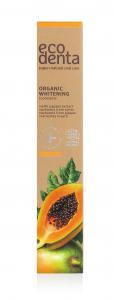 Pasta de dinti organica pentru albire cu extract de papaya Cosmos Organic Ecodenta 75 ml [3]