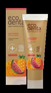 Pasta de dinti organica pentru copii cu suc de fructe Cosmos Organic Ecodenta 75 ml [1]