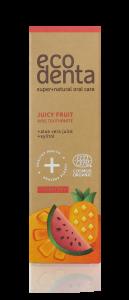 Pasta de dinti organica pentru copii cu suc de fructe Cosmos Organic Ecodenta 75 ml [2]