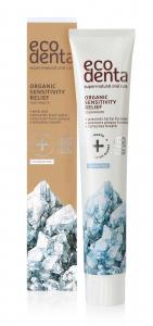 Pasta de dinti organica pentru dinti si gingii sensibile Cosmos Organic Ecodenta 75 ml [1]