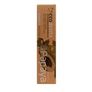 Pasta de dinti pentru albire cu extract de papaya Cosmos Organic Ecodenta 100ml2
