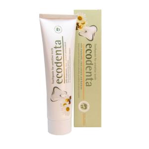 Pasta de dinti pentru dinti sensibili cu extract de musetel cuisoare si Kalident Ecodenta 100ml1