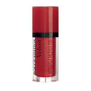 Ruj de buze cu efect matifiant Bourjois Rouge Edition Velvet No.01 Personne Ne Rouge!, 7.7ml [0]
