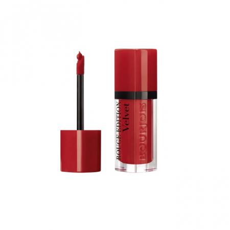 Ruj de buze cu efect matifiant Bourjois Rouge Edition Velvet No.01 Personne Ne Rouge!, 7.7ml [1]
