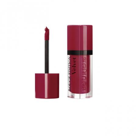 Ruj de buze cu efect matifiant Bourjois Rouge Edition Velvet No.08 Grand Cru, 7.7ml [1]