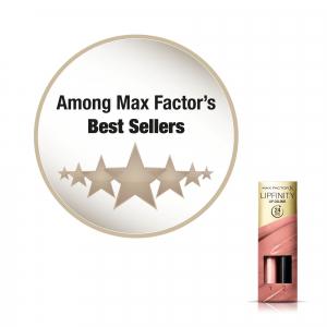Ruj de buze rezistent la transfer Max Factor Lipfinity, 160 Iced, 42 g [5]
