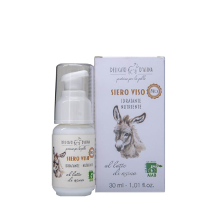 Serum facial hidratant si regenerant cu lapte de magarita BIO La Dispensa 30 ml1