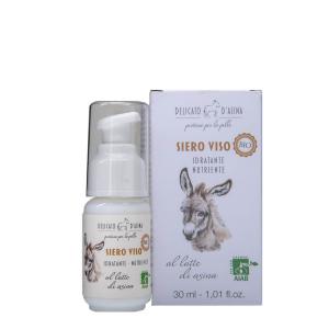 Serum facial hidratant si regenerant cu lapte de magarita BIO La Dispensa 30 ml1